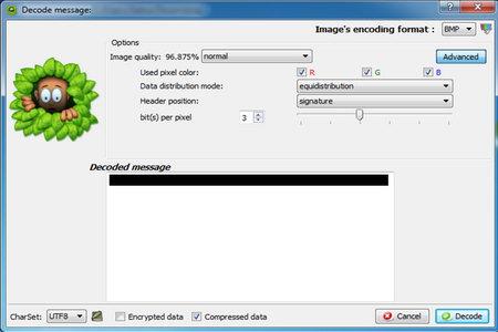 SilentEye free Steganography software