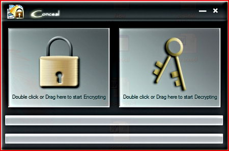 Encryption software Conceal