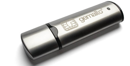 Gemalto SmartGuardian USb flashdrive FIPS certified