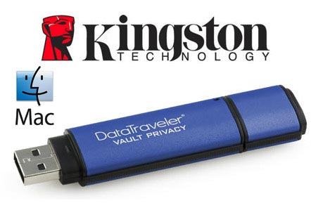 KingsTon Datatraveller Vault encrypted USB drive