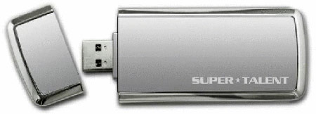 SuperTalent SuperCrypt Pro USB3.0 encrypted drive
