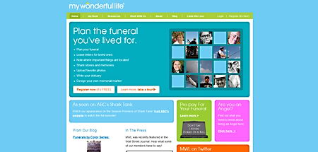 MyWonderfulLife funeral planning