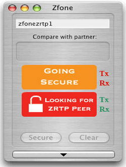 Zfone VoIP encryption software