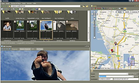 GeoSetter GPS Exif data