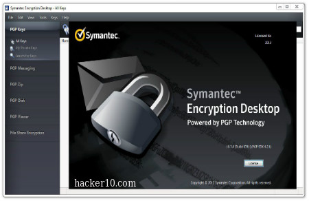 Symantec Encryption Desktop PGP