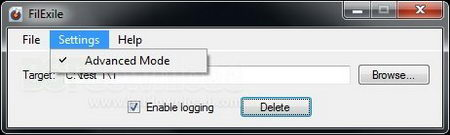 FilExile erase locked files