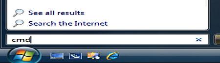 Windows cmd command launch