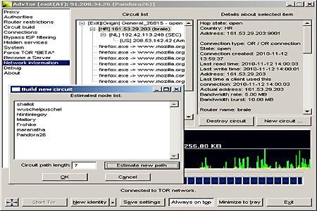 Advanced Onion Router tor proxy
