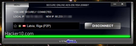 VPN4All connection