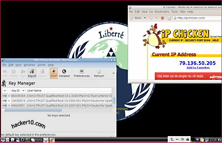 Liberté Linux Anonymous operating system