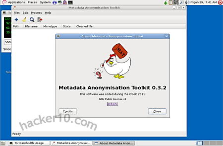 Tails Metadata Anonymisation Toolkit