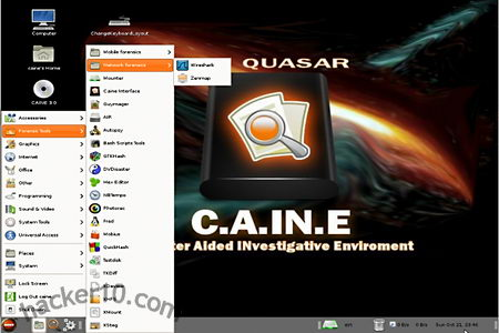 CAINE computer forensics distribution