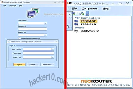Private VPN network NeoRouter