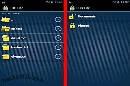 Android Encrypted Data Storage Lite