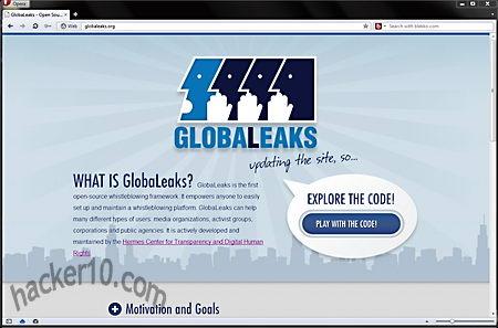 Globaleaks whistleblowing platform