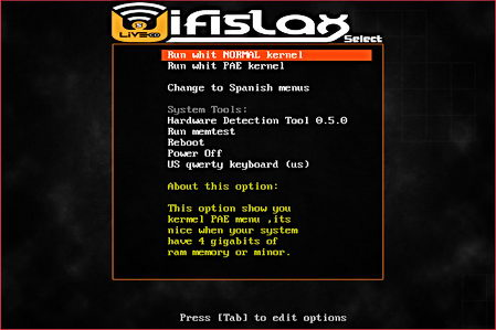 WifiSlax Linux to crack Wifi