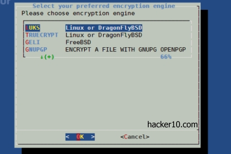Luksus encryption front end