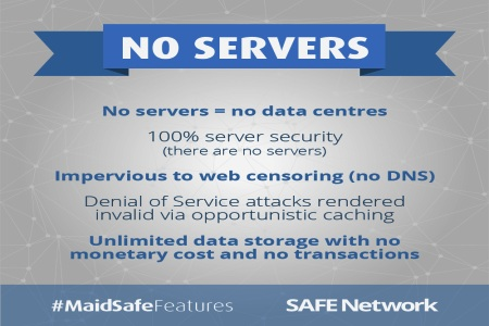 MaidSafe decentralised network