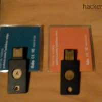 Yubikey Edge and Yubikey Nano with NFC